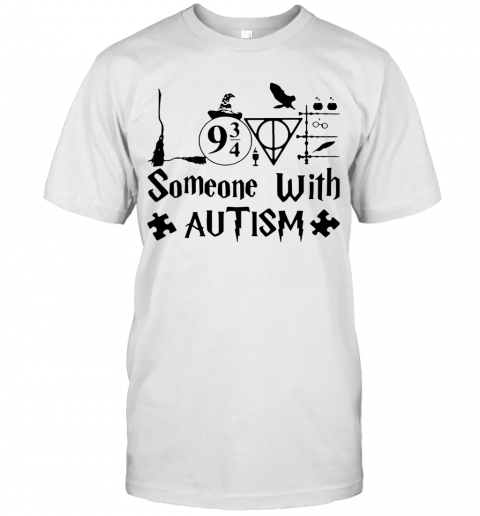 Harry Potter Someone With Autism T-Shirt Classic Men's T-shirt
