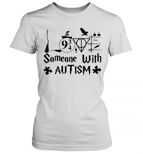 Harry Potter Someone With Autism T-Shirt Classic Women's T-shirt