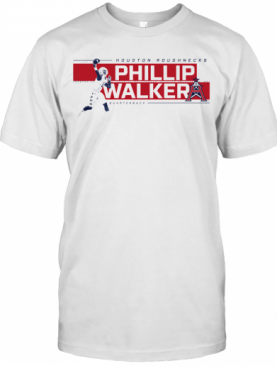 Houston Roughnecks Phillip Walker Quarterback T-Shirt