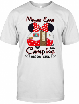 Mouse Ears Camping Kinda Girl T-Shirt