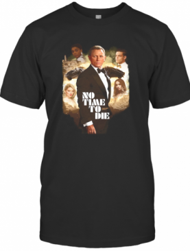 No Time Die 007 Characters T-Shirt