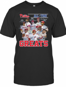 Philadelphia Phillies All Time Greats Signature T-Shirt