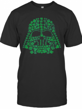 Star Wars Darth Vader Green Shamrocks St. Patrick'S Day T-Shirt