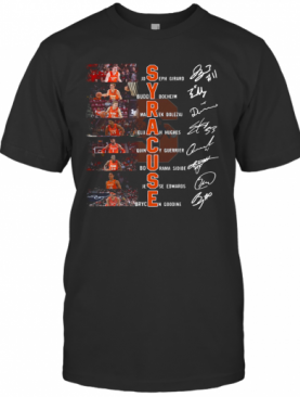 Syracuse Players Signatures T-Shirt