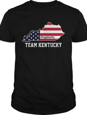 Team Kentucky American Flag shirt
