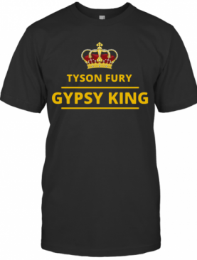 Tyson Fury Gypsy King T-Shirt