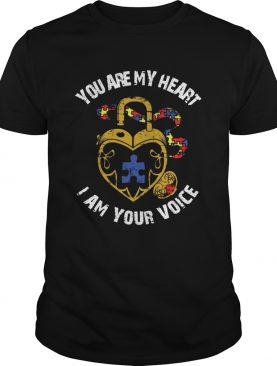 You Are My Heart I Am Your Voice Awareness shirt