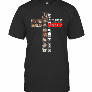 All I Need Today Is A Little Bit Of Aztecs And A Whole Lot Of Jesus T-Shirt Classic Men's T-shirt