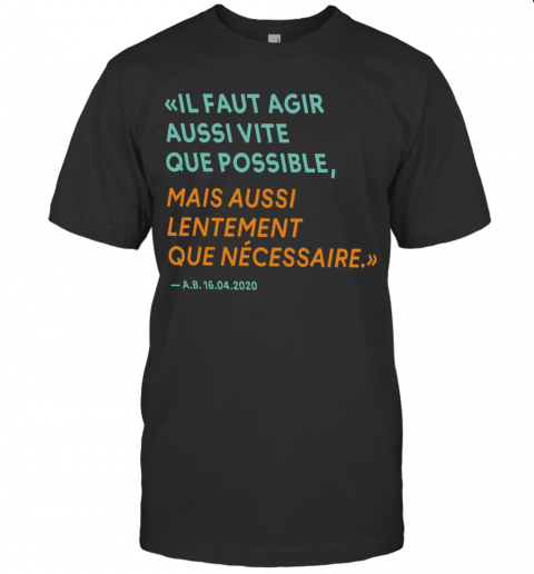 By The Way Alain Berset T Shirt Classic Mens T shirt