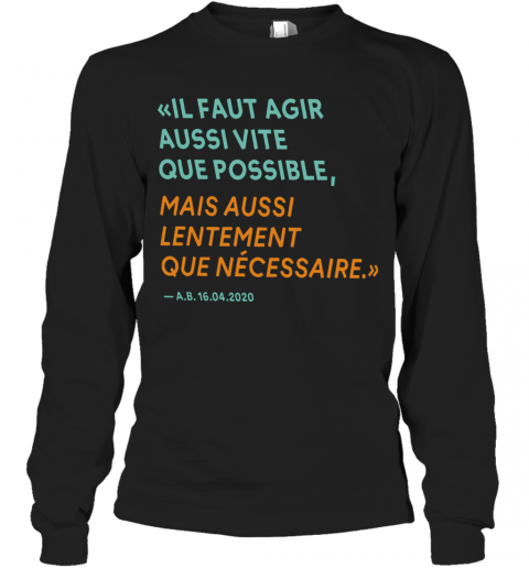 By The Way Alain Berset T-Shirt Long Sleeved T-shirt