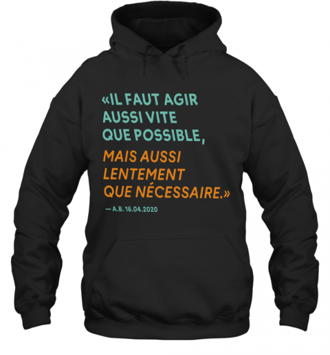 By The Way Alain Berset T-Shirt Unisex Hoodie