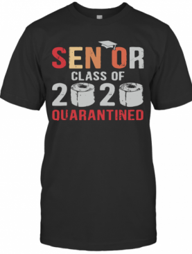 Class Of 2020 Quarantined Seniors Flu T-Shirt
