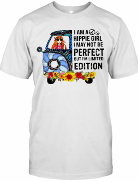 I Am Hippie Girl I May Not Be Perfect But T-Shirt