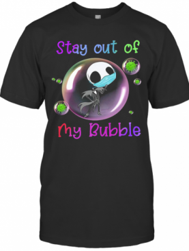 Jack Skellington Mask Stay Out Of My Bubble T-Shirt