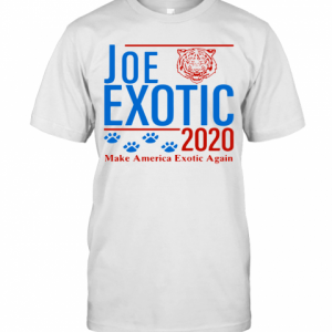 Joe Exotic Tiger King Make America Exotic Again 2020 T-Shirt Classic Men's T-shirt