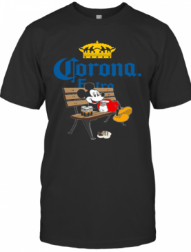 Mickey Mouse Drink Corona Extra T-Shirt