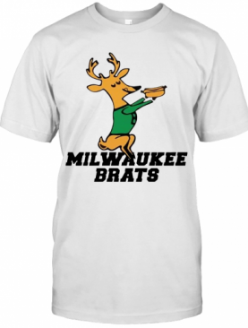 Milwaukee Buck Milwaukee Brats T-Shirt