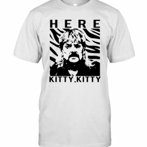 The Tiger King Joe Exotic Here Kitty Kitty T-Shirt Classic Men's T-shirt