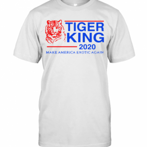 Tiger King 2020 Make America Exotic Again T-Shirt Classic Men's T-shirt