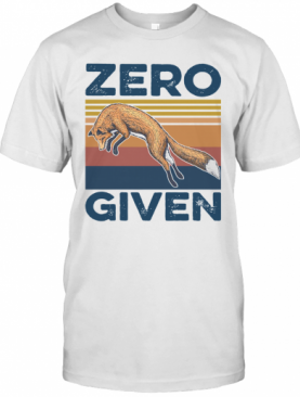 Vintage Red Fox Zero Given T-Shirt