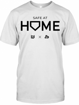 White Routine X Justbats Safe At Home T-Shirt