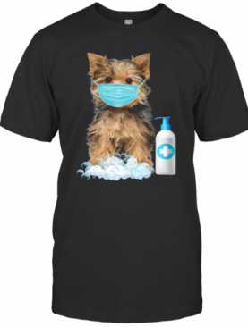 Yorkshire Terrier Lover Face Mask T-Shirt
