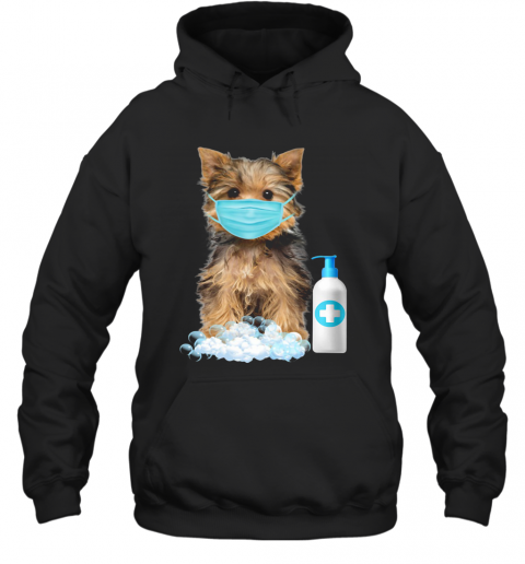 Yorkshire Terrier Lover Face Mask T-Shirt Unisex Hoodie