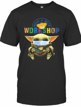 Baby Yoda Hug Build A Bear Workshop Mask T-Shirt