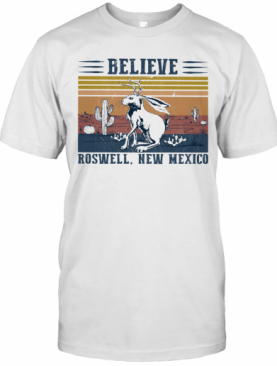 Believe Roswell New Mexico Vintage T-Shirt