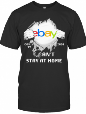 Blood Inside Me Ebay COVID 19 2020 I Can'T Stay At Home T-Shirt