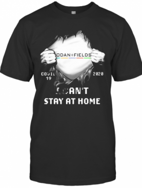 Blood Inside Rodan Fields Covid 19 2020 I Can'T Stay At Home T-Shirt