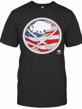 Buffalo Sabres American Flag Veteran Independence Day T-Shirt