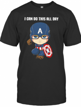 Captain Marvel I Can Do This All Day T-Shirt