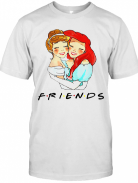 Cinderella And Ariel Friends T-Shirt