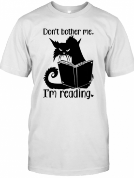 Dragon Don'T Bother Me I'M Reading T-Shirt