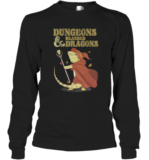 Dungeons Bearded And Dragons T-Shirt Long Sleeved T-shirt