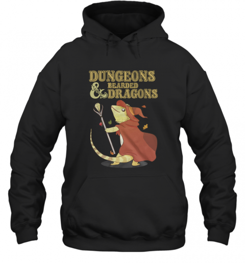 Dungeons Bearded And Dragons T-Shirt Unisex Hoodie