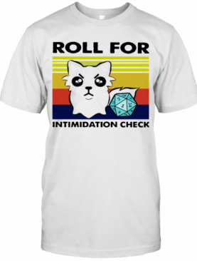 Fox Roll For Intimidation Check Vintage T-Shirt
