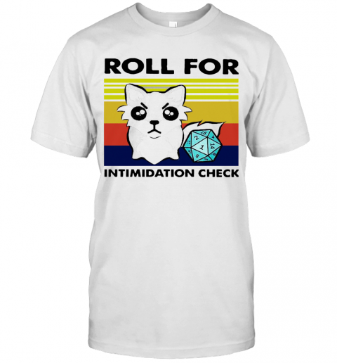 Fox Roll For Intimidation Check Vintage T-Shirt Classic Men's T-shirt