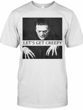 Frankenstein Mary Shelley Let's Get Creepy T-Shirt