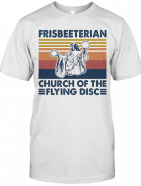 Frisbeeterian Church Of The Flying Disc Vintage T-Shirt