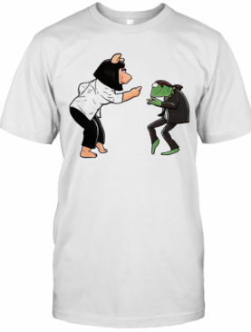 Frog Piggy Fiction Dance T-Shirt