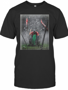 Game Of Thrones Iron Throne Tiger Woods GOAT T-Shirt
