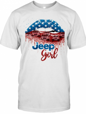 Lips Jeep Car Girl T-Shirt