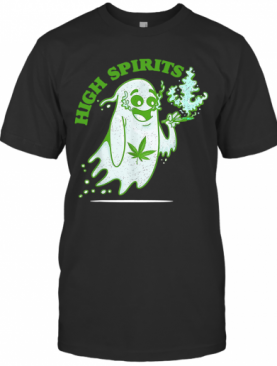 Marijuana Weed Smokers High Spirits T-Shirt