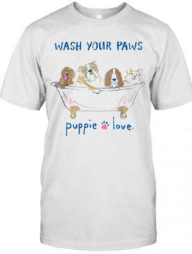 Puppie Love Youth Logo Pup Help Rescue Dogs T-Shirt