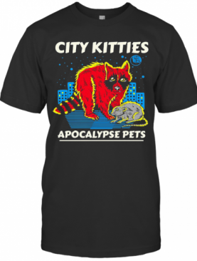 Racoon City Kitties Apocalypse Pets T-Shirt