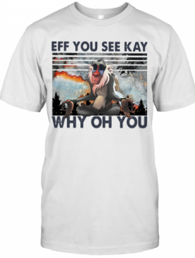 Rafiki Eff You See Kay Why Oh You Vintage T-Shirt