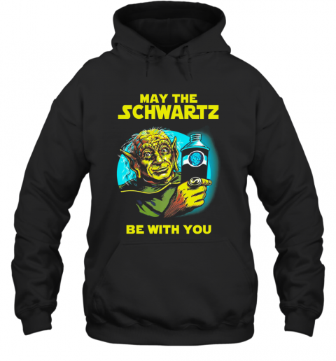 Star Wars Master Yoda May The Schwartz Be With You T-Shirt Unisex Hoodie