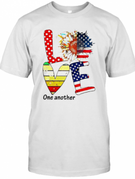 Sunflower American Love One Another Vintage T-Shirt